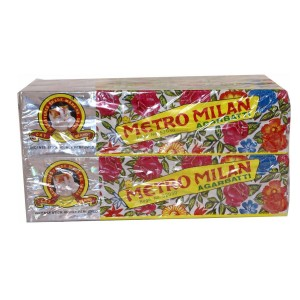 Metromilan Incense Per Box 12pkts.