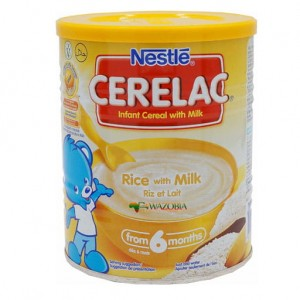 Cerelac Rice with Milk 400g